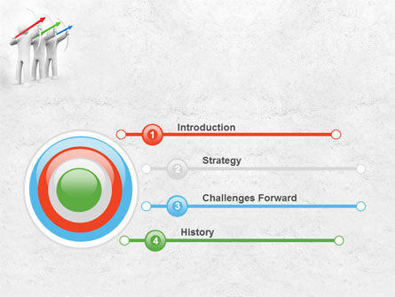 Archers PowerPoint Template, Slide 3, 07800, Business Concepts — PoweredTemplate.com