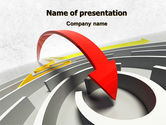 Consulting: Breakthrough Solution PowerPoint Template #07801