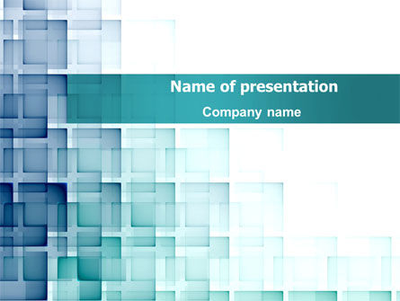 Abstract Geometric Pattern PowerPoint Template