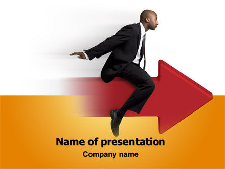 Business Concepts: Follow Direction Free PowerPoint Template #07805