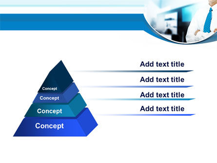 Blue Tie PowerPoint Template Slide 4