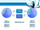 Blue Tie PowerPoint Template#16