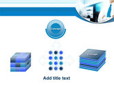 Blue Tie PowerPoint Template#19
