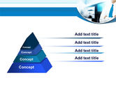 Blue Tie PowerPoint Template#4