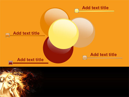 Flame Girl PowerPoint Template Slide 10