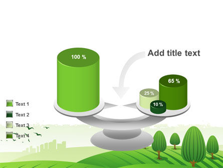 Green Hills PowerPoint Template Slide 10