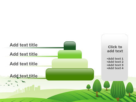 Green Hills PowerPoint Template Slide 8