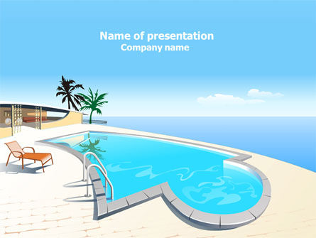 Careers/Industry: Villa PowerPoint Template #07810