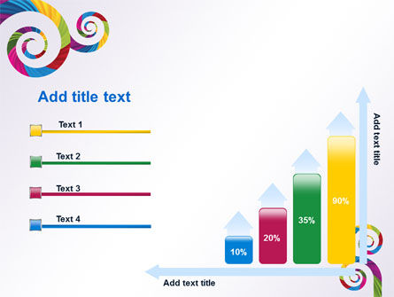 Color Curls PowerPoint Template Slide 8