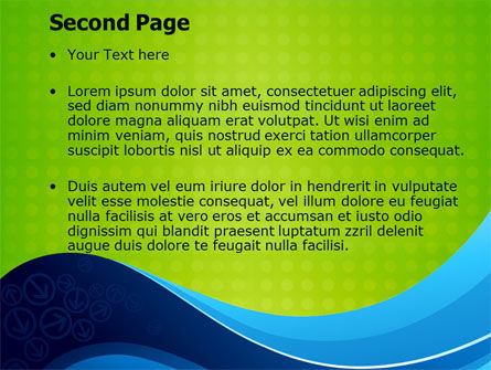 Three Strings Theme PowerPoint Template Slide 2