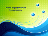 Abstract/Textures: Three Strings Theme PowerPoint Template #07819