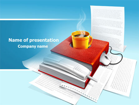Business: Workplace PowerPoint Template #07820