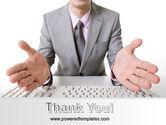 Open Hands PowerPoint Template#20