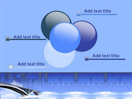 Free City Bridge PowerPoint Template Slide 10