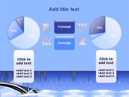 City Bridge Free PowerPoint Template Slide 11