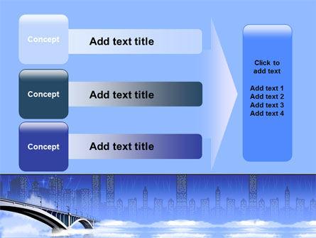 Free City Bridge PowerPoint Template Slide 12