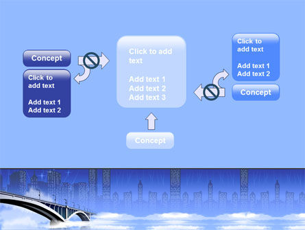 Free City Bridge PowerPoint Template Slide 13