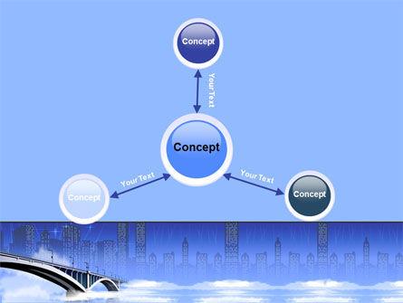 Free City Bridge PowerPoint Template Slide 14