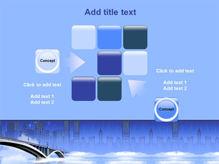 Free City Bridge PowerPoint Template Slide 16