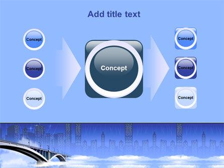 Free City Bridge PowerPoint Template Slide 17