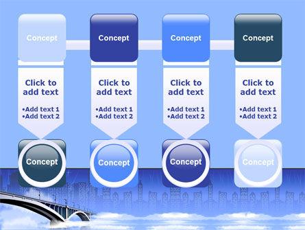 Free City Bridge PowerPoint Template Slide 18