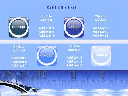 Free City Bridge PowerPoint Template Slide 19