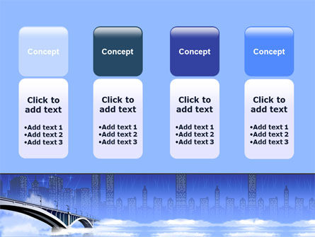 Free City Bridge PowerPoint Template Slide 5