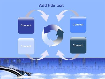 Free City Bridge PowerPoint Template Slide 6
