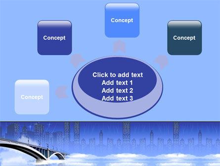 Free City Bridge PowerPoint Template Slide 7