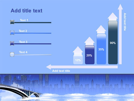 Free City Bridge PowerPoint Template Slide 8