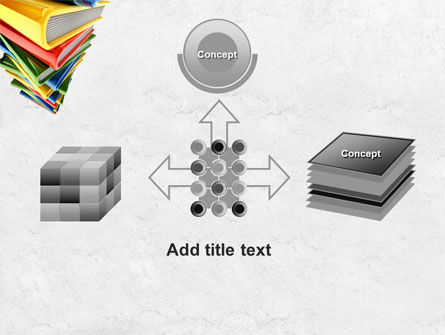 Pile of Books PowerPoint Template Slide 19