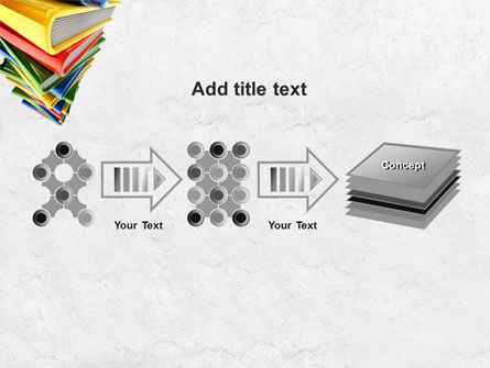 Pile of Books PowerPoint Template Slide 9