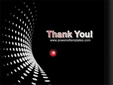 Red Particle PowerPoint Template Slide 20
