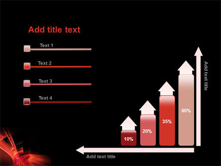 Red Abstract PowerPoint Template Slide 8