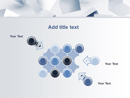 3D Cubes PowerPoint Template Slide 10