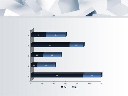 3D Cubes PowerPoint Template Slide 11