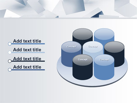 3D Cubes PowerPoint Template Slide 12