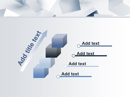 3D Cubes PowerPoint Template Slide 14