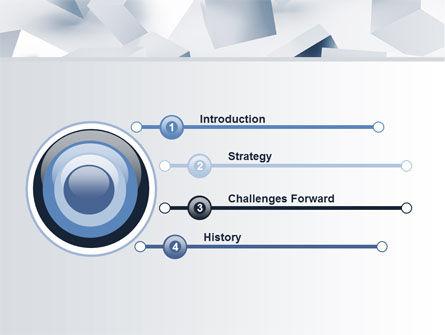 3D Cubes PowerPoint Template, Slide 3, 07830, Abstract/Textures — PoweredTemplate.com