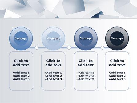3D Cubes PowerPoint Template Slide 5
