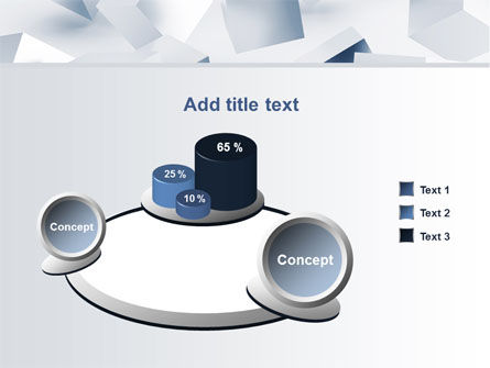 3D Cubes PowerPoint Template Slide 6