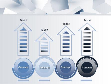 3D Cubes PowerPoint Template Slide 7