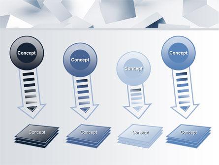 3D Cubes PowerPoint Template Slide 8