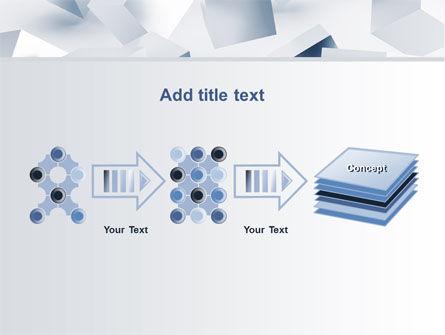 3D Cubes PowerPoint Template Slide 9