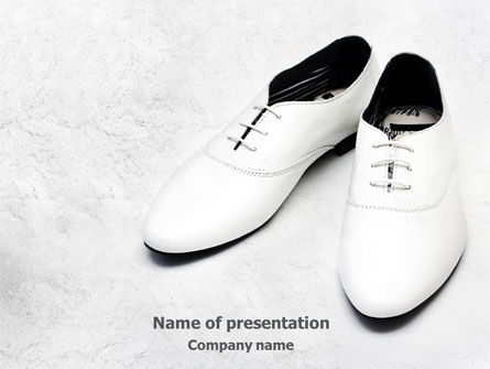 Careers/Industry: White Shoes Free PowerPoint Template #07831