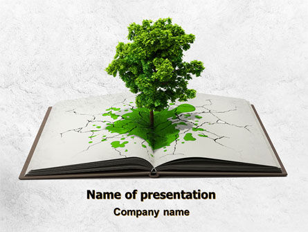 Tree of Knowledge PowerPoint Template, 07833, Education & Training — PoweredTemplate.com