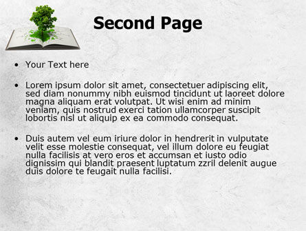 Tree of Knowledge PowerPoint Template, Slide 2, 07833, Education & Training — PoweredTemplate.com