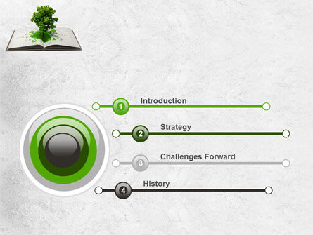 Tree of Knowledge PowerPoint Template, Slide 3, 07833, Education & Training — PoweredTemplate.com