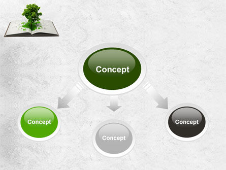 Tree of Knowledge PowerPoint Template, Slide 4, 07833, Education & Training — PoweredTemplate.com