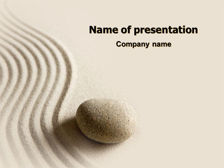 Religious/Spiritual: Ideal Composition PowerPoint Template #07834